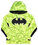 DC Comics Dark Knight Batman All Over Pullover Boys' Hoodie Neon Yellow XXL18