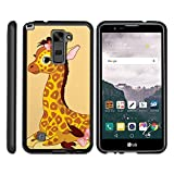 MINITURTLE Case Compatible w/ LG Stylus 2 Case , LG Stylo 2 Case | LS775| Phone Case, Perfect Fit Snap on Animals Baby Giraffe