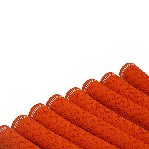 150 pcs - Majek Tour Pro Orange Standard Golf Grips by Majek Grips (Image #3)