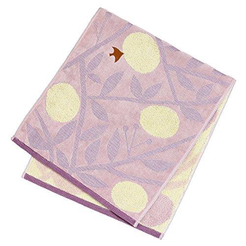 Travel Towel Japan: Mikan Face Towel By Yurio Seki
