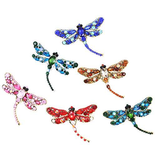 Apol Dragonfly Fashion Rhinestones Decoration product image