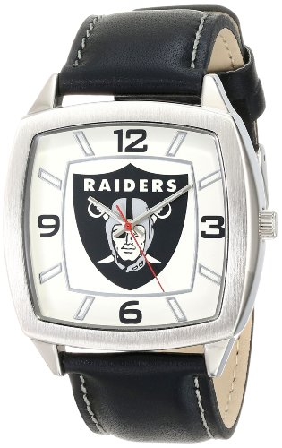 Bearcats Sport Steel Band (Game Time Men's NFL Retro Series Watch - Oakland Raiders)