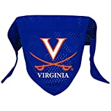 Hunter Mfg. LLP NCAA Virginia Cavaliers Pet Bandana, Team Color, Small