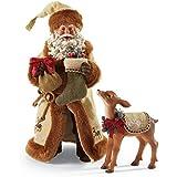 Department 56 Possible Dreams Christmas Santa's Fawned Memories Figurine
