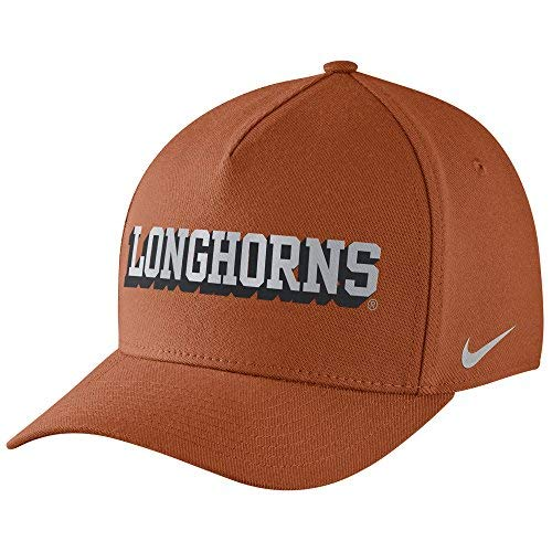 Nike Texas Longhorns Dri-Fit DNA Verbiage Flex-Fit Hat ()