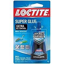 Henkel-Loctite 1363589 20 Pack 4 Gram Super Glue Ultra Gel Control, Clear