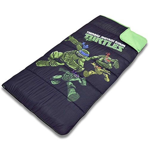 Cambay Linens Nickelodeon Kids Teenage Mutant Ninja Turtles Sleeping Bag Storage Bag, Black by Cambay Linens (Image #2)