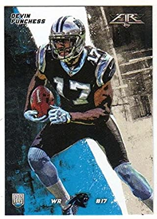 Amazon.com  2015 Fire Rookies  11 Devin Funchess RC Panthers ... dbf8151d8