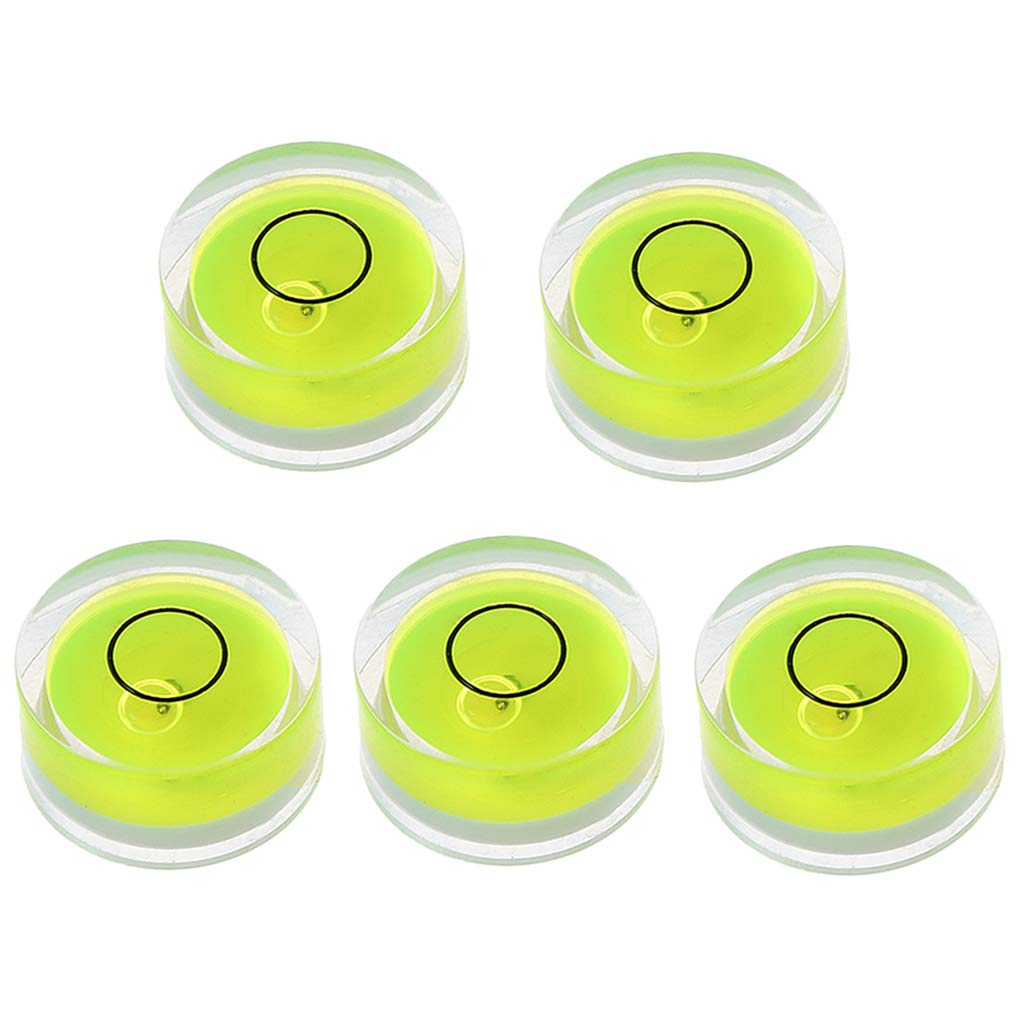 D FlowerPEI 5 mini livella a bolla rotonda per misurare la superficie del bullseye