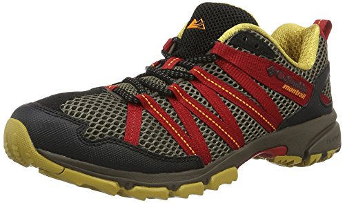Columbia Montrail Men's Mountain Masochist III Trail Runner, Mud, Rocket, 12 D US