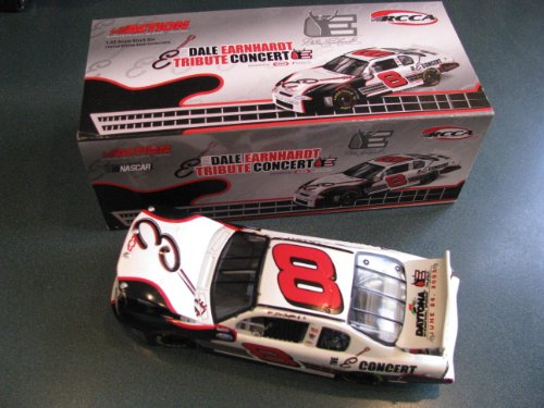 1/32 Scale Dale Earnhardt Jr #8 Dale Earnhardt Sr Tribute Concert Legend E 2003 Monte Carlo 1/32 Scale Action Racing Collectables RCCA Club Car Hood Trunk Opens Limited Edition Only (Nascar Tribute Hood)