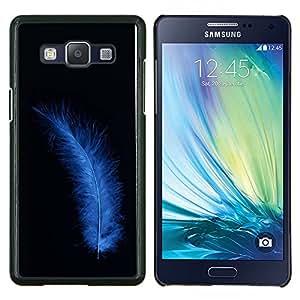 """Be-Star Único Patrón Plástico Duro Fundas Cover Cubre Hard Case Cover Para Samsung Galaxy A5 / SM-A500 ( Blue Bird Feather"""" )"""