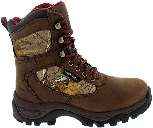 Field & Stream Women's Game Trail Real Tree Xtra Waterproof 800g Field Hunting Boots (Realtree Xtra, 7.5 B(M) US)