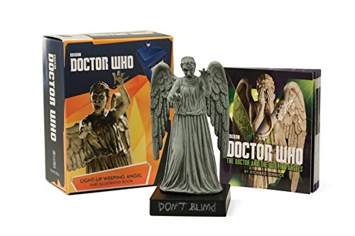 Doctor Who: Light-Up Weeping Angel and Illustrated Book (Miniature Editions)
