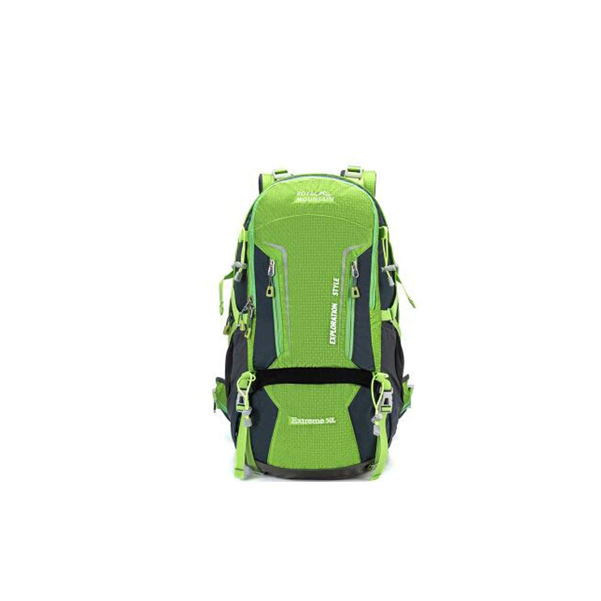 Chenjinxiang01 50L Large Capacity Outdoor Mountaineering Bag Color : Pink Camping Travel Multi-Purpose Camping Backpack