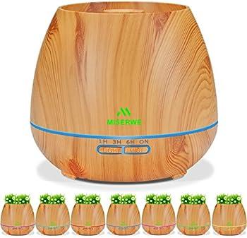 Miserwe 550ml Essential Oil Diffuser Planter