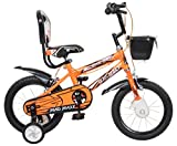 MAD MAXX BIKES 14 Inches Neon Orange Single Speed Road Kids Cycle for 3 to 5 Years Child
