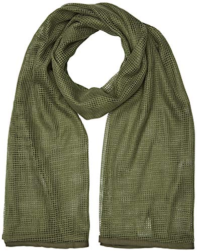 Mil-Tec Tactical Net Scarf (Olive - Olive Nets Drab Head