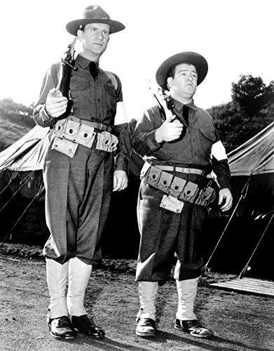 Buck Privates Bud Abbott Lou Costello [Abbott And Costello] 1941 Photo Print (8 x - Print Abbott