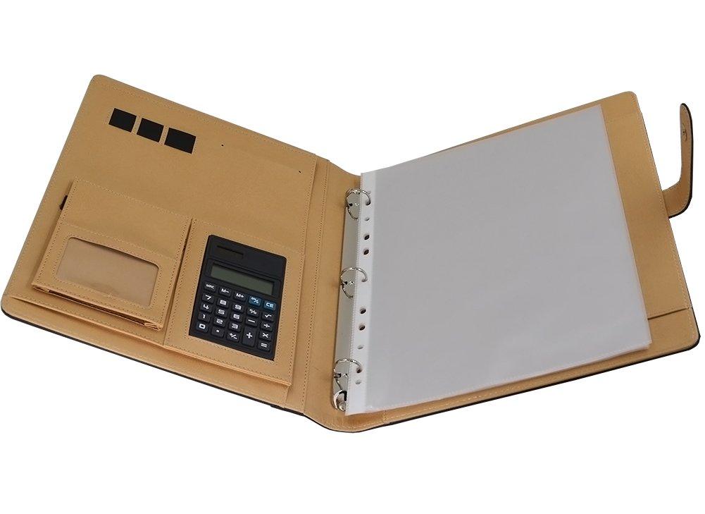 Amazoncom Gigibon Business Leather Pad Portfolio with Multi