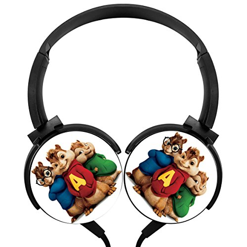 Price comparison product image Ada-Boom Alvin and the Chipmunks Stereo Deep Bass Wired Headphones Earphone