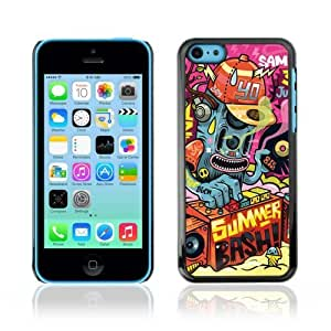 MMZ DIY PHONE CASEYOYOSHOP [Cool Abstract DJ Monster ] Apple iphone 6 plus 5.5 inch Case