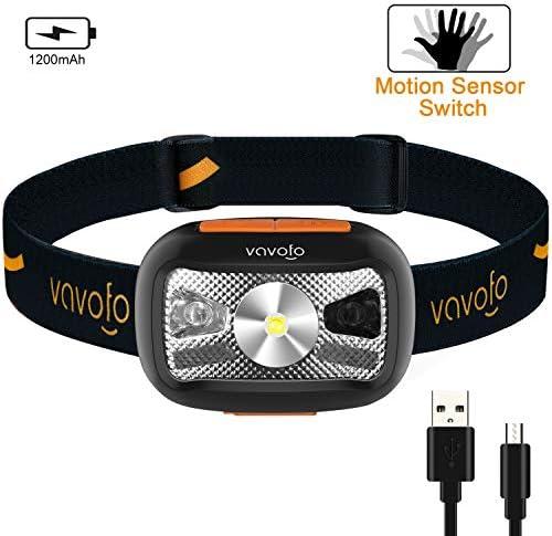 VAVOFO Rechargeable Flashlight Lightweight Waterproof