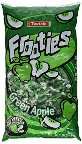 Tootsie Rolls Frooties Green Apple Candy (360 count)