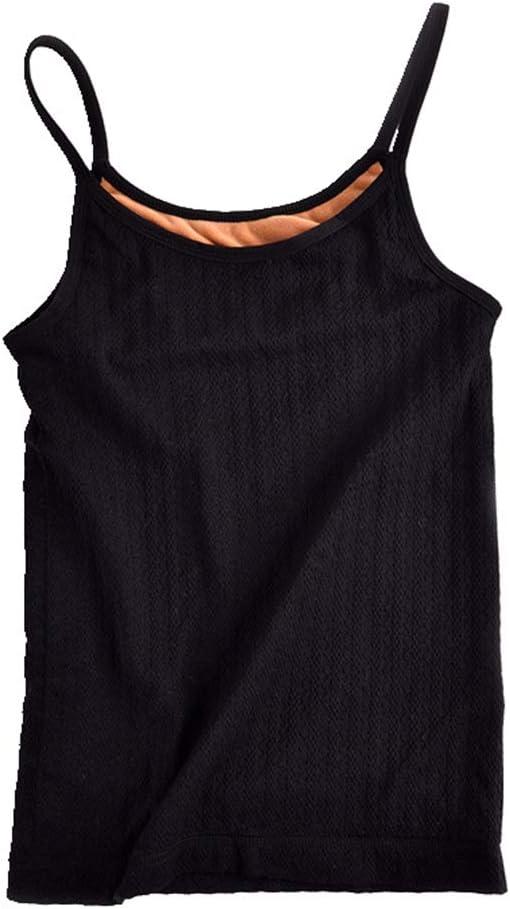 Kentop Camiseta de Tirantes de Algodón para Mujer,Tops térmicos ...