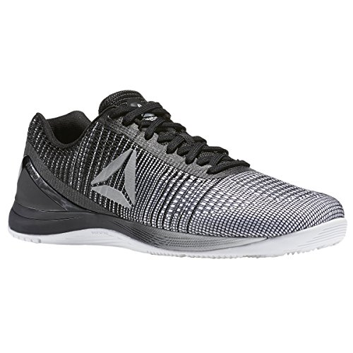 Reebok Men's Crossfit Nano 7.0 Cross-Trainer Shoe, White/Black, 12 M (White Shoes Trainers)