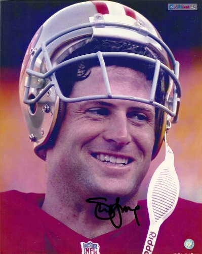 (Steve Young, San Francisco 49ers, Niners, Byu, Signed, Autographed, 8x10 Photo, Coa with Proof)