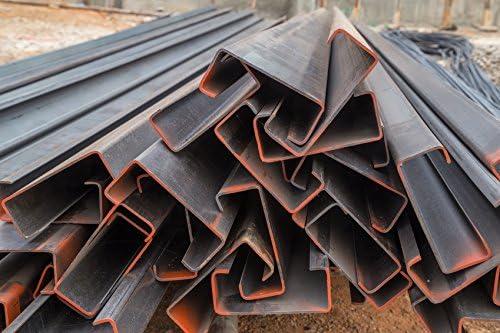 6 pieza de acero separador de toldo, perfil de perfil C 40 x 40 x 10 x 2 mm – Longitud 1000 mm: Amazon.es: Bricolaje y herramientas