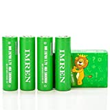V Force IMR 20700 3000MAH 40A 3.7V batteries | 4-Pack | GREEN SERIES authentic lithium original li-ion flat top high drain rechargeable battery