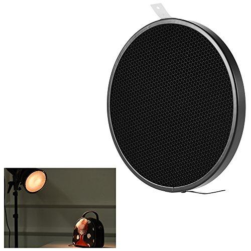 Andoer 16.8cm 30 Degree Photo Studio Honeycomb Grid for 7'' Standard Reflector Diffuser Lamp Shade Dish by Andoer