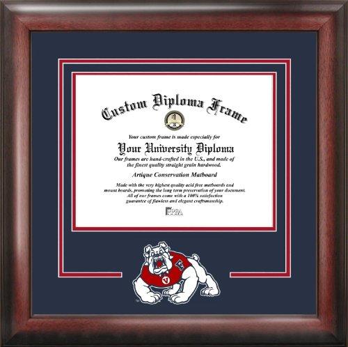 NCAA Fresno State Bulldogs Spirit Diploma Frame, 8.5 x 11