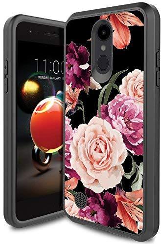 LG Rebel 3 Phone Case, LG Aristo 2 Case, LG Tribute Dynasty Case, LG Zone 4  Case PURSQ Slim Dual Layer Hybrid Shockproof Defender Protective Armor