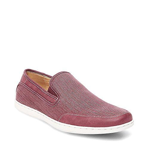 Steve Madden Mens Luthur Fashion Sneaker Rode Stof
