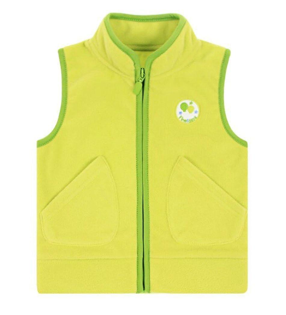 Dalary Baby Boys/&Girls Polar Fleece Sleeveless Jacket Outerwear Vests Three Babies/_359