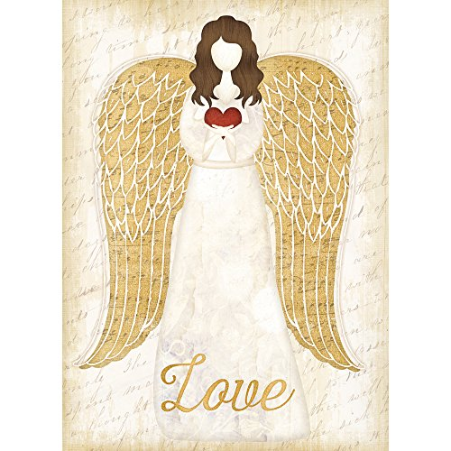 - Tree-Free Greetings Christmas Cards and Envelopes, Holiday Card Set, 5 x 7 Inch Cards, Holiday Box Set of 10, Christmas Angel, (HB93390)