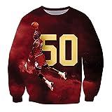 Unisex Hipster 3D Jordan Play Basketball Swag 3D Sweatshirt Hoodie (XL)