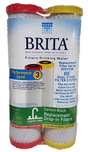 Brita Drinking Water Carbon Block Under Sink Replacement