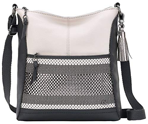 Womens Handbags Wholesale (The Sak Lucia Crossbody (Slate Metallic Woven))