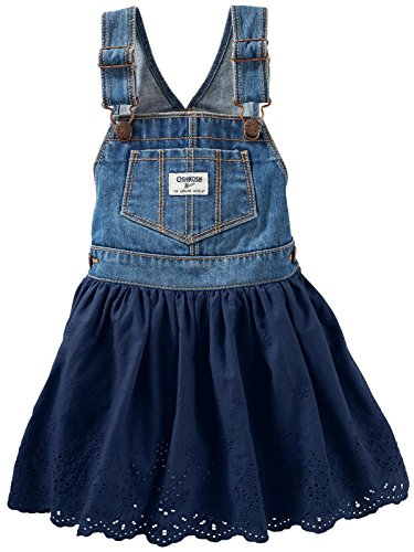 OshKosh B'gosh Girls' Jumper 22117810, Denim, 2T