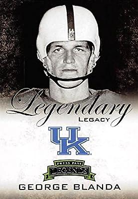 George Blanda Football Card (Kentucky Wildcats) 2008 Press Pass Legends Legendary Legacy #LL-18