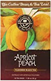 The Coffee Bean & Tea Leaf Apricot Peach Tea, 18 Count (Pack of 6)
