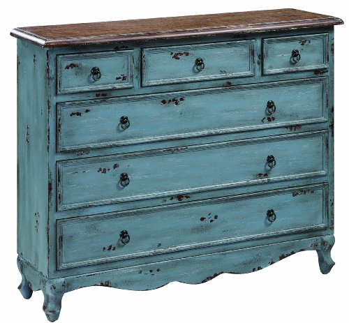 Crestview Collection Shoreview 4-Drawer Cabinet