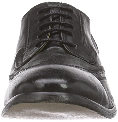 H Door Hudson Mens Rowe Oxford Black