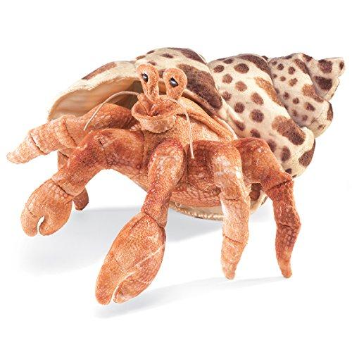 Folkmanis Hermit Crab Hand Puppet