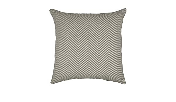 Amazon.com: ON 1 Piece 20 X 20 Beige Grey Quote Chevron ...