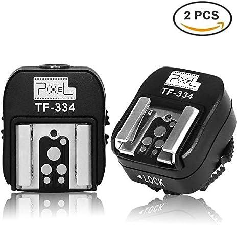 Pixel TF-334 Adaptador de zapata para convertir las cámaras réflex digitales de Sony Mi para Canon Nikon